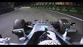 Rosberg wrzeszczy Damn it! po przegraniu z Hamiltonem