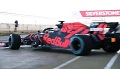 Bolid Red Bulla na sezon 2019 w akcji
